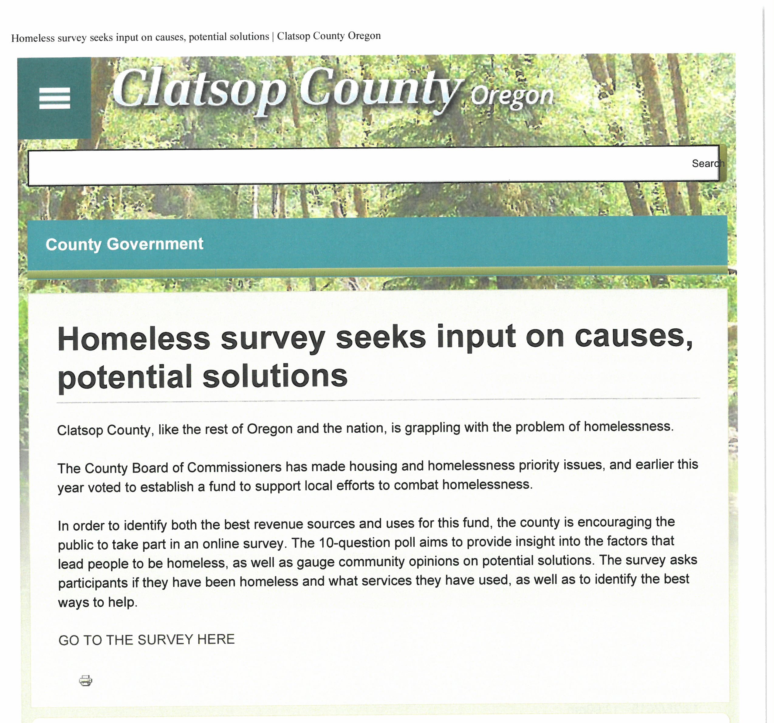 homelessness causes and solutions